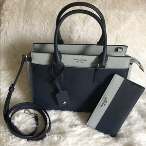NWT Kate Spade Medium Satchel and Wallet